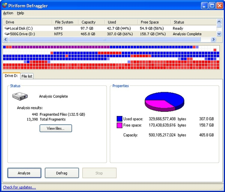 Defraggler Business / Professional / Technician v2.21.993 Portable Free Download